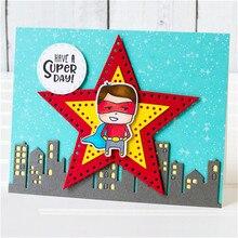 Eastshape Star Tag Dies Metal Cutting New Craft Frame for 2019 Card Making Scrapbooking Album Paper Creative DIY