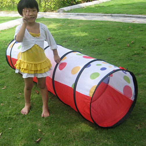 1.8 Meters large baby child play tent tunnel creeping tent tunnel foldable magical game house tunnel kids educational toys ZP37a