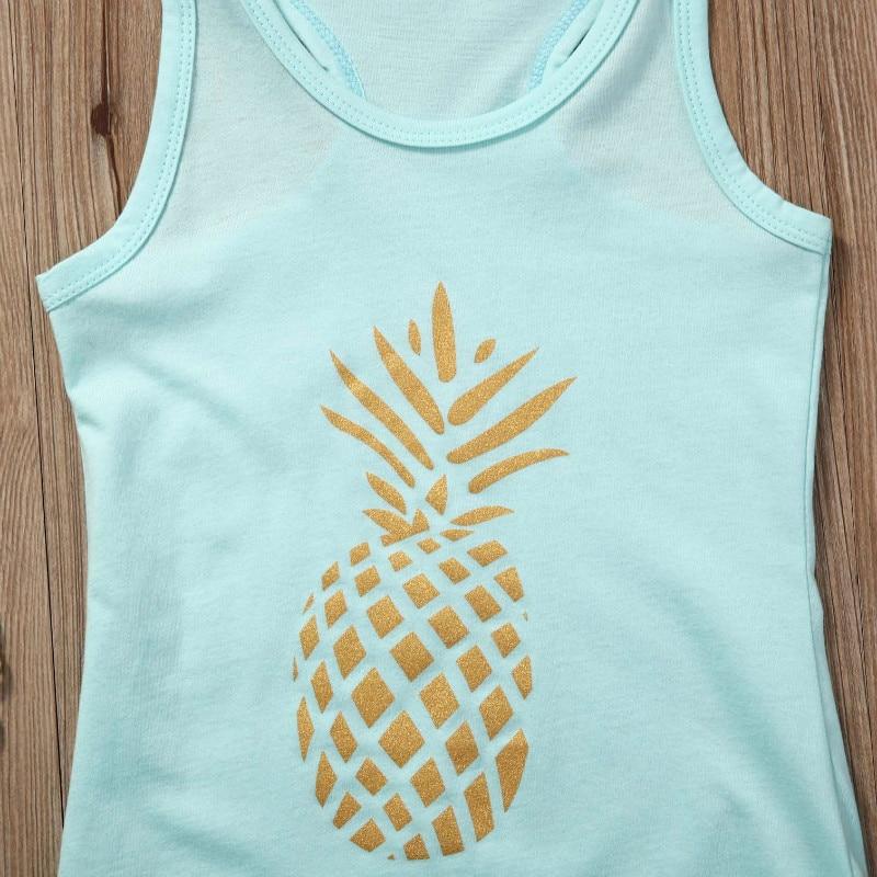 Pineapple-Toddler-Kids-Baby-Girl-Dress-Sleeveless-Party-Tassel-Dresst-Clothes-2