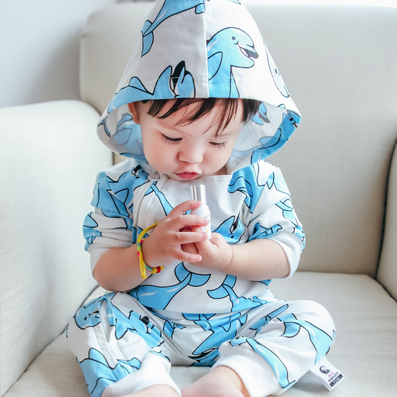 Newborn Cotton Cartoon Cute Animals Baby Rompers Long Sleeve Soft Dolphin printing Toddler Baby Boy Girl Clothes Kids Jumpsuit детский комбинезон n a winter style newborn toddler s rompers lovely cartoon long sleeve warmful clothes for baby kids climbing clothing 1pc tz053