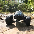 NEW 2.4G 1:12 Scale RC Car 4CH Supersonic Explorer Monster with 2 - Wheel Driven Electric Racing Truggy Crawler RC Car Toy