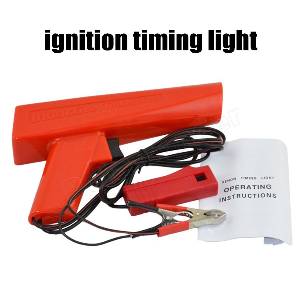 for all cars engine ignition timing gun high quality inductive timing light,car motorcycle ignition timing light detector import test engine ignition timing light timing gun car and motorcycle repair detection tool