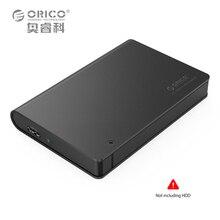 ORICO 2598S3-BK Алюминия USB3.0 2.5 SATA3.0 HDD Корпус Поддержка 9.5 мм и 12.5 мм Жесткий Диск (Не включая ЖЕСТКИЙ ДИСК)