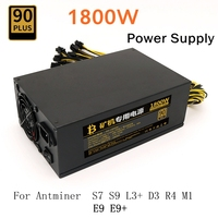 Asic S9 1800w Sever Power Supply Psu For Antminer S7 S9 Antminer L3 D3 R4 E9