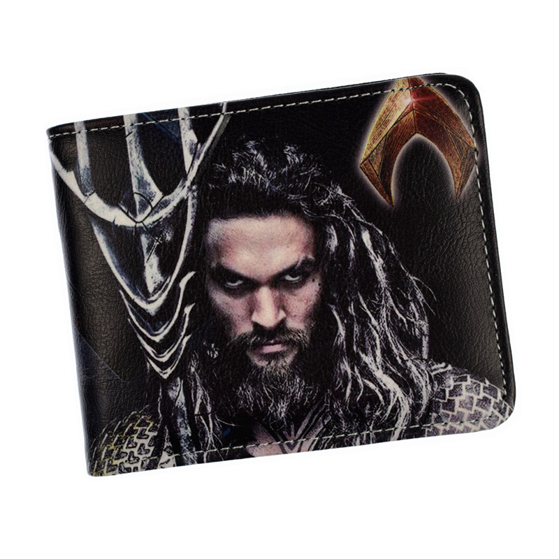 FVIP Anime DC Wallet Justice League Aquaman Short Wallet High Quality Money Bag With Coin Pocket For Man Women оборудование для мониторинга m square tpu page 2