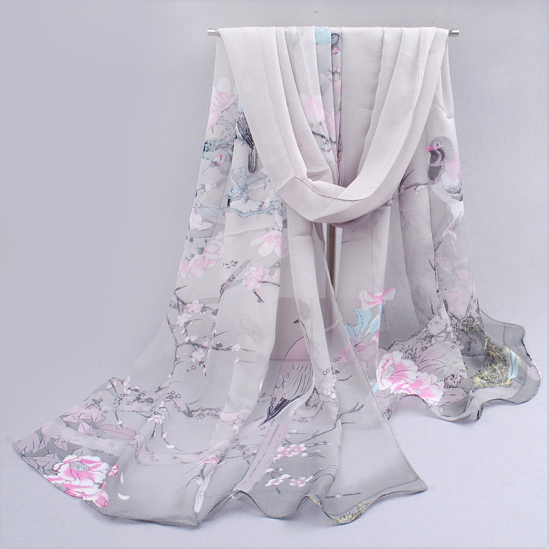 cachecol feminino corrió cachecol 2019 calavera de primavera y - Accesorios para la ropa - foto 5