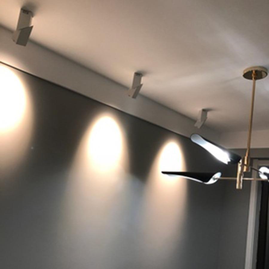 Luz Pista Holofotes Teto Superfície Montado LEVOU