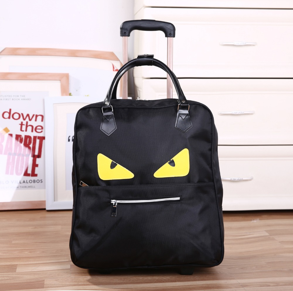 2018 New Trolley Bag Commercial Travel fashion Luggage Bags Carry-on PU Leather  20inch 36L-55L Rolling Duffle Bags Waterproof 2018 New Trolley Bag Commercial Travel fashion Luggage Bags Carry-on PU Leather  20inch 36L-55L Rolling Duffle Bags Waterproof