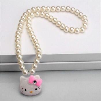 Children Hair Accessories Set Hello Kitty Jewelry set 4