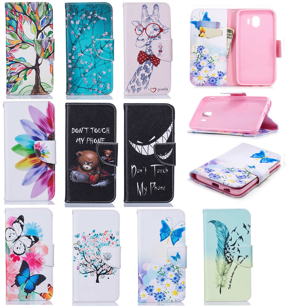 Fundas de teléfono para Samsung Galaxy J3 Funda de cuero Flip Wallet - Accesorios y repuestos para celulares - foto 5