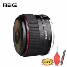 MEKE майке 6,5 мм f/2,0 ультра широкий ручная фокусировка Циркуляр рыбий глаз для M43 Panasonic Olympus MFT беззеркальных камеры + Бесплатный подарок