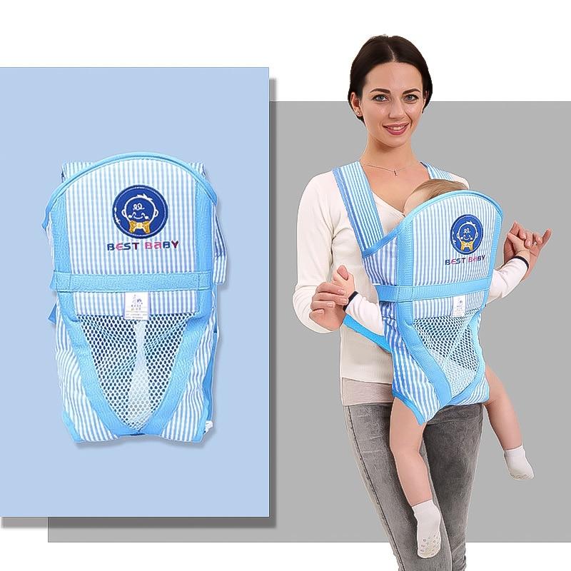 Infant Baby Carrier Kangaroo Multifunction Newborn Soft Breathable Adjustable Hip Seat 0 36 Months Newborn Baby Carrier in Backpacks Carriers from Mother Kids