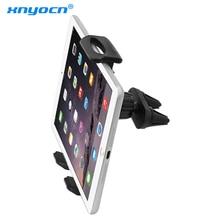 Автомобильный вентиляционный двойной держатель Подставка для 7 до 11 дюймов ipad mini Pro Air samsung Galaxy планшет PC для huawei xiaomi планшет
