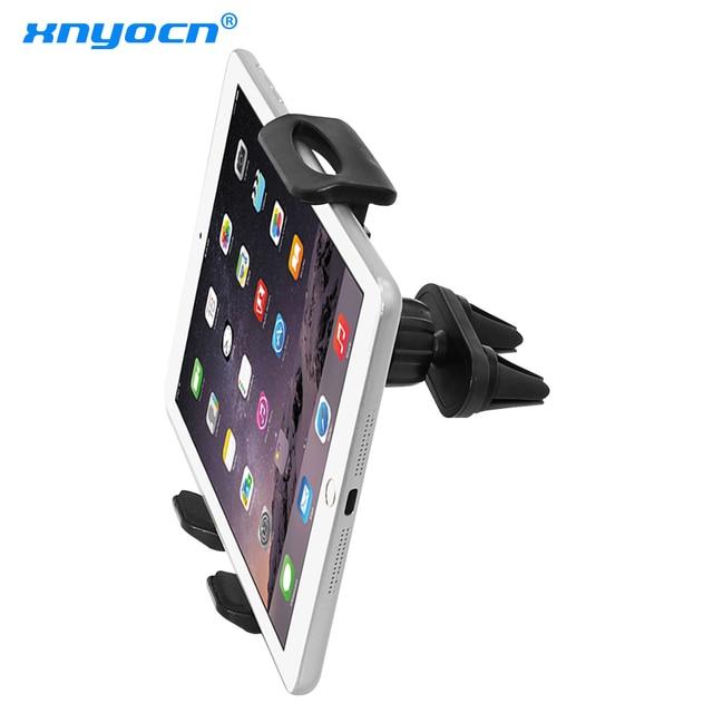Soporte de montaje doble de ventilación de coche para ipad mini Pro Air de 7 a 11 pulgadas Samsung Galaxy Tab Tablet PC para huawei xiaomi Tablet