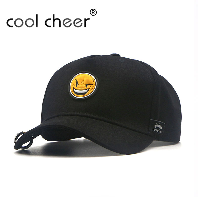 [Cool Cheer] New Aliens Angry Expressions Black Cool Baseball Caps Kid Children Teenagers Adult Men Women Sport Active Hat QZ-23