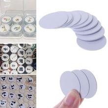 10 шт. Ntag215 NFC бирки телефон Доступные клейкие этикетки RFID бирки 25 мм Прямая поставка поддержка