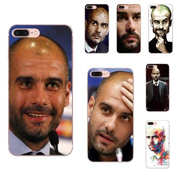 Soccer Coach Pep Guardiola TPU Coque Case Capa For Huawei Honor Mate 7 7A 8 9 10 20 V8 V9 V10 G Lite Play Mini Pro P Smart image