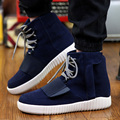 New Men High Tops Casual Shoes Fashion Comfortable Breathable Lace Up Flats Cotton Winter Warm Fashion Shoes Mens