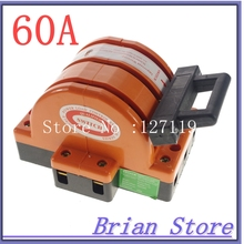 Heavy Duty 3Poles Double Throw 3PDT 60A Electric Safety Knife Blade Disconnect Switches