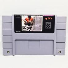 15 em 1 com Fatal Fury1 2 S/Challeng SFII/Arte de Combate A 16 bit Cinzento grande Jogador Do Jogo Consola de jogos para OS EUA Versão NTSC Salvar Arquivo