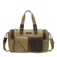 Крест быка, Мужская Холщовая Сумка-ведро, сумка для путешествий, мужской багаж, сумки для мужчин, большая емкость, холщовые сумки 14