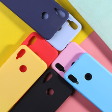 For Redmi Note 6 Pro Case Candy Color TPU 5 7 Luxury Lovely Silicone Matte Soft Phone Back Cover