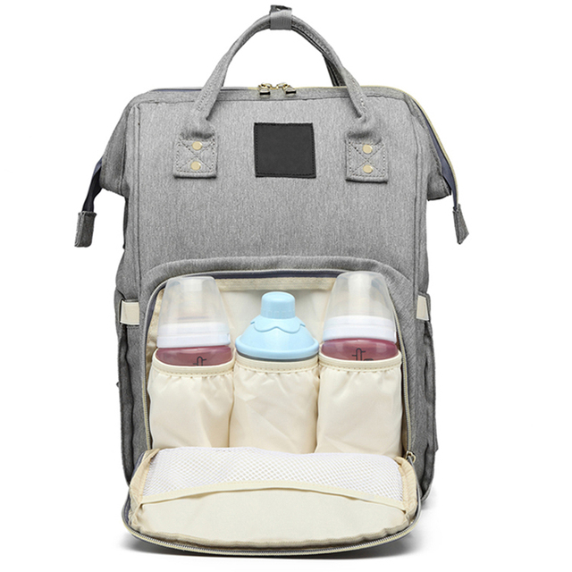 433e01ebbf5 US $19.79 34% OFF|Mummy Maternity Nappy Bag Large Capacity Baby Bag Travel  Backpack Designer Nursing Bag-in Diaper Bags from Mother & Kids on ...