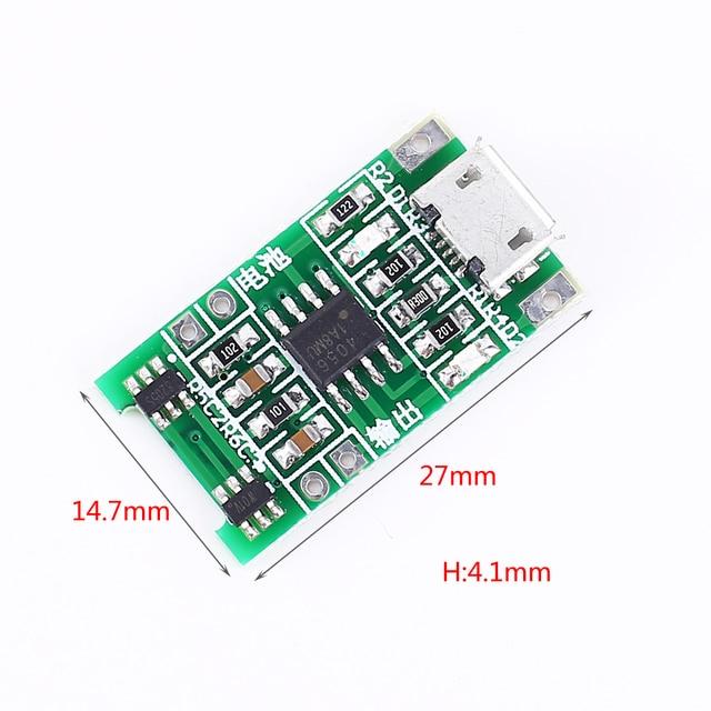 3.6V 3.7V 4.2V Solar Charging Module Charging protector for lithium battery Support Charging and Discharging for Solar charging