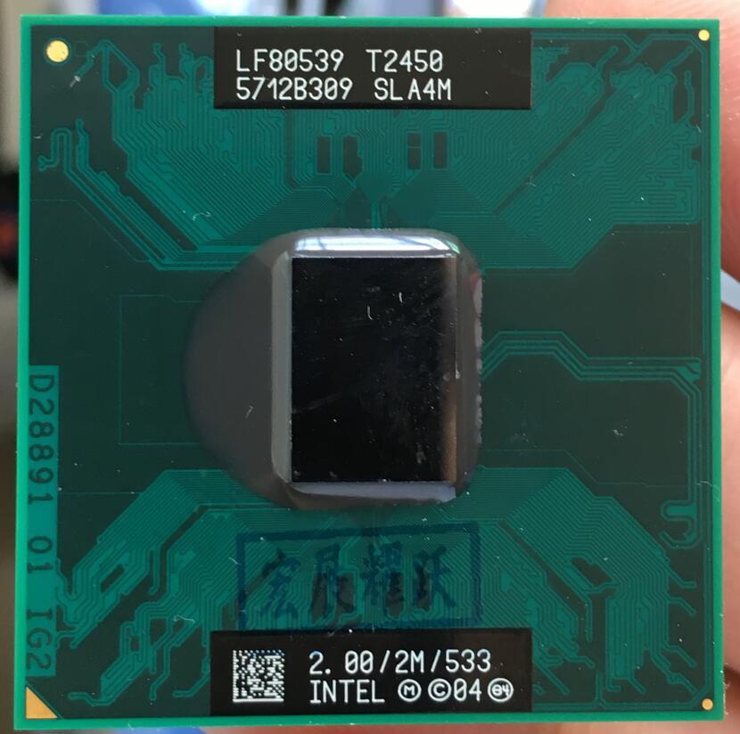 Intel Core 2 Duo T2450 notebook CPU Laptop processor PGA 478 cpu 100% working properly