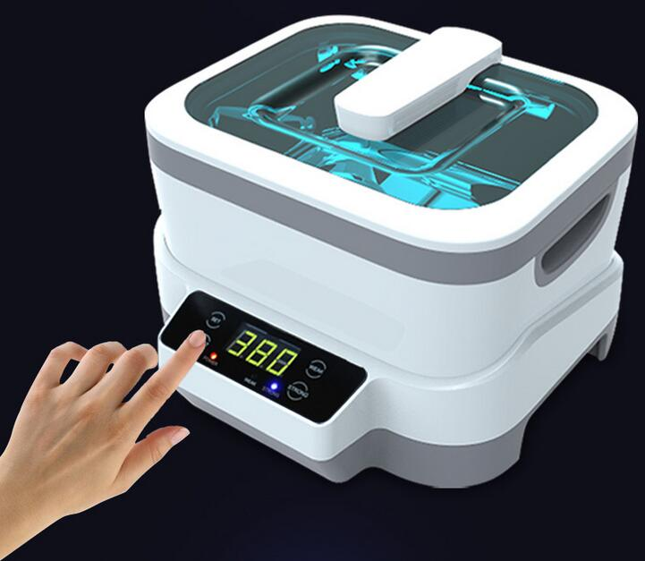 Fission Machine Dual Touch Screen Sterilizer Pot Salon Nail Tattoo Clean Watches Gem Ultrasonic Cleaner Autoclave Tool Jp 1200