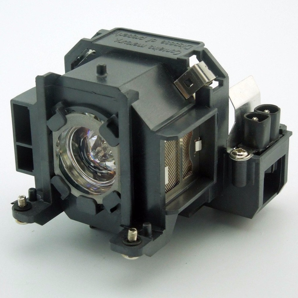 ELPLP38 / V13H010L38  Replacement Projector Lamp with Housing  for  EPSON EMP-1715 / EMP-1705 / EMP-1710 / EMP-1700 / EMP-1707