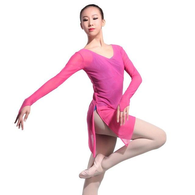 De gymnastique maillot de bain gymnastique justaucorps ballet tutu de danse  danse jupe robe plat corps f4bc2134b893