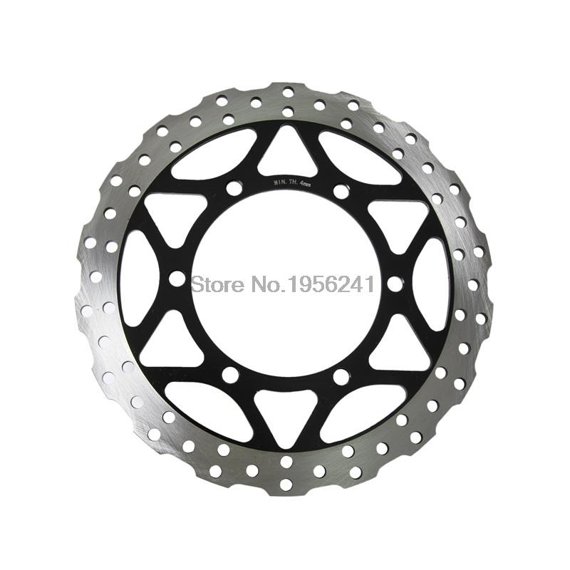 Metallic Front Brake Disc Rotor for Kawasaki Ninja 250R ABS 2008 2009 2010 2011 2012 Motorbike Front Brake Disc Rotor new motorcycle front brake disc front brake disc suitable for kawasaki small ninja 250 ninja250r ex250 2008 2012