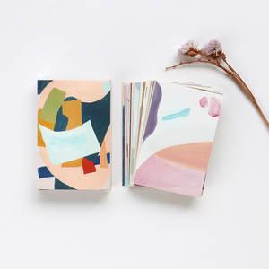 28 листов/набор, креативная красочная жизнь, мини ломо открытка/письмо на день рождения, конверт, Подарочная открытка с подарком