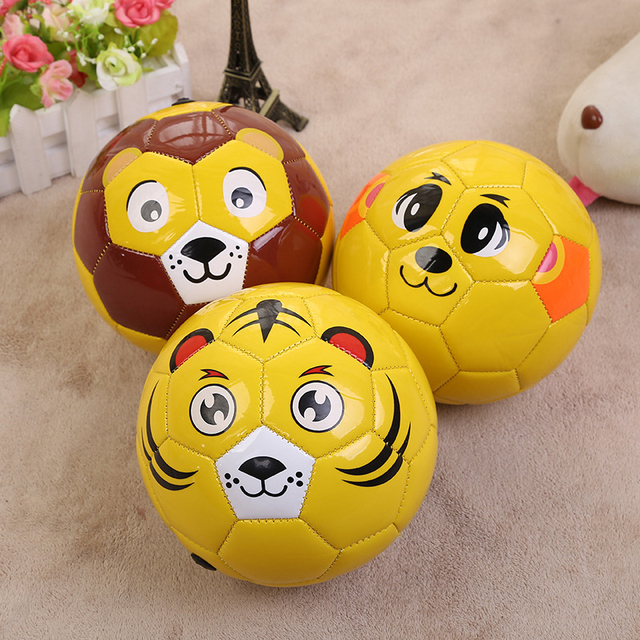 Soccer Kids Cartoon Balls