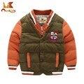 Monkids Мальчики Куртки Дети Верхняя Одежда Пальто и Куртки Дети Верхняя Одежда Парки Мальчики Зимнее Пальто Вниз Детская Одежда