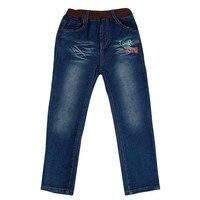 N ovatx B6009แฟชั่นคาวบอยกางเกงยีนส์เด็กสำหรับเด็กเสื้อผ้าเด็กเด็กชายสบายๆหล่อกาง