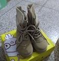 CCTWINS CRIANÇAS outono botas de couro genuíno para crianças meados de bezerro botas sapatos de bebê meninos marca martin botas meninas moda preto