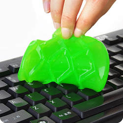 High-Tech Magic Dust Cleaner Compound Clean Slimy гель для телефона ноутбук ПК Компьютерная клавиатура случайный цвет