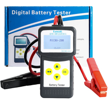 New Arrival Digital car truck motor Auto Battery Tester Analyzer Diagnostic Tool Micro-200 2000CCA 200Ah