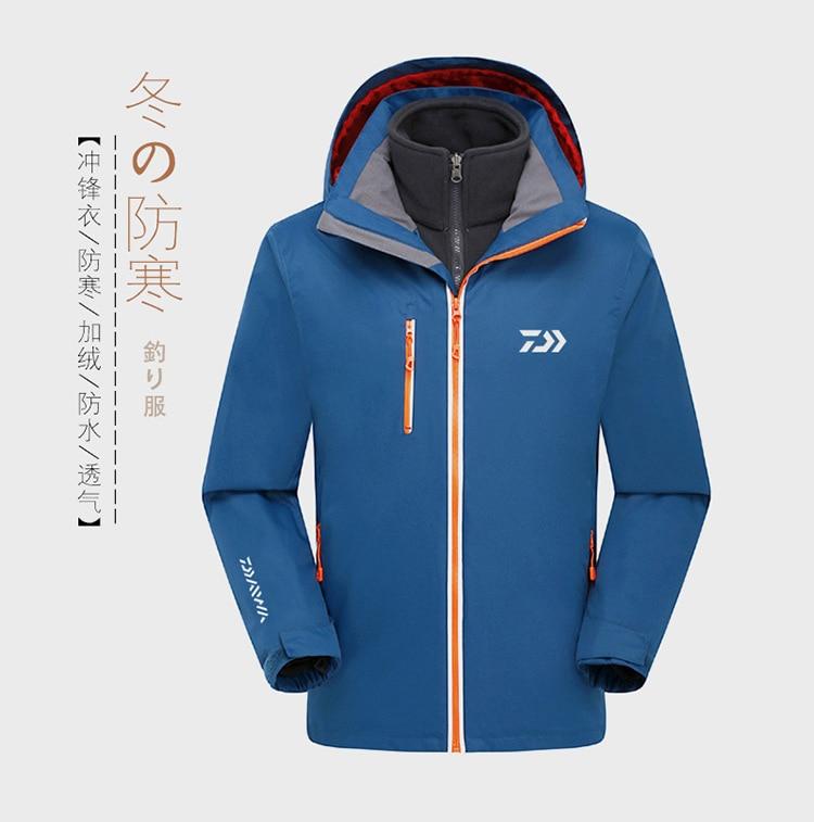 2019 outono inverno daiwa roupas de pesca