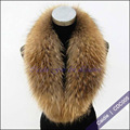 CDC005 2014  Fashion Real Raccoon Dog Fur Collar For Winter
