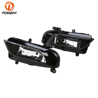 POSSBAY Car External Lights Fit for Audi A4 Sedan/Avant 2013/2014/2015/2016 Front Front Lower Bumper Fog Light Assembly