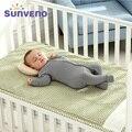 SUNVENO бренд хлопок 3 слоя дизайн дышащая детская кроватка листов детей Летний спальный коврик кроватки Постельное белье для новорожденных 120*70 - фото