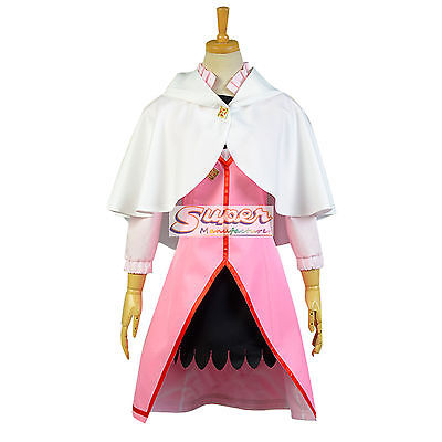 DJ DESIGN Snow White with the Red Hair Shirayuki Pink Escapes Daily Cloth Cosplay Costume