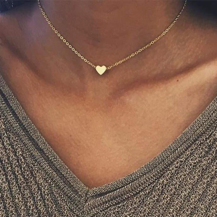 IF ME, винтажное многослойное ожерелье с кулоном из кристаллов, женские бусы золотого цвета, Лунная звезда, рога полумесяца, колье, ожерелье, ювелирное изделие, Новинка - Окраска металла: NJDY88951