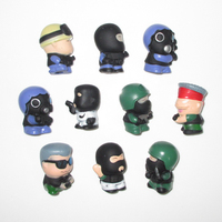 10 Pcs Set Counter Strike Cop Terrorist Mini Figures CS Global Offensive Characters Toy Model