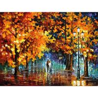 Hand painted landscape oil pictures canvas large wall painting the tears of angles pop art for living room decor
