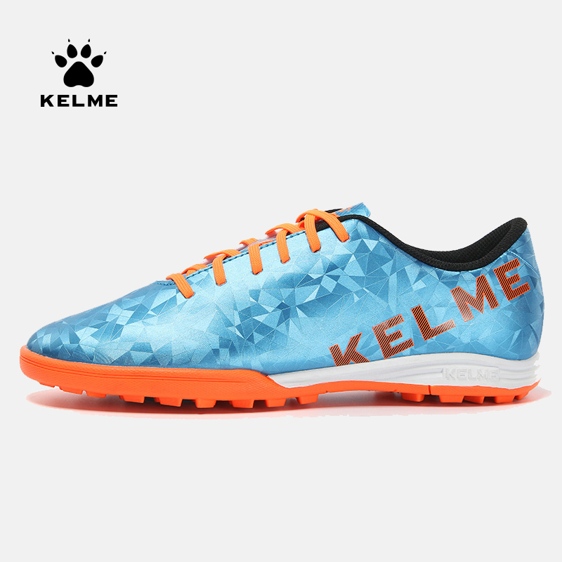 KELME Professional Football Boots Soccer Shoes Men Original TF Diamond Soccer Football Cleats Sneakers Futsal Boot Male 6983301|soccer cleats|chuteira futebol|football boots tf - title=