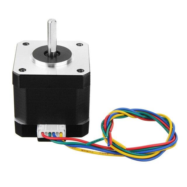 1 pc Brand New Durable 42mm 1.68A 17 Nema Motor de Passo 1.8 Graus Para CNC Router